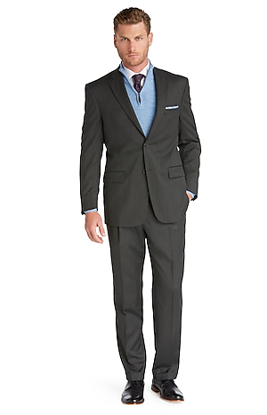 Signature Collection Traditional Fit Suit - Big & Tall