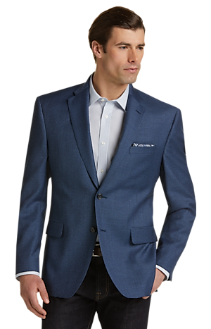 Men's FLYOUT_CATEGORY, Executive Collection Traditional Fit Houndstooth Sportcoat - Big & Tall - Jos A Bank