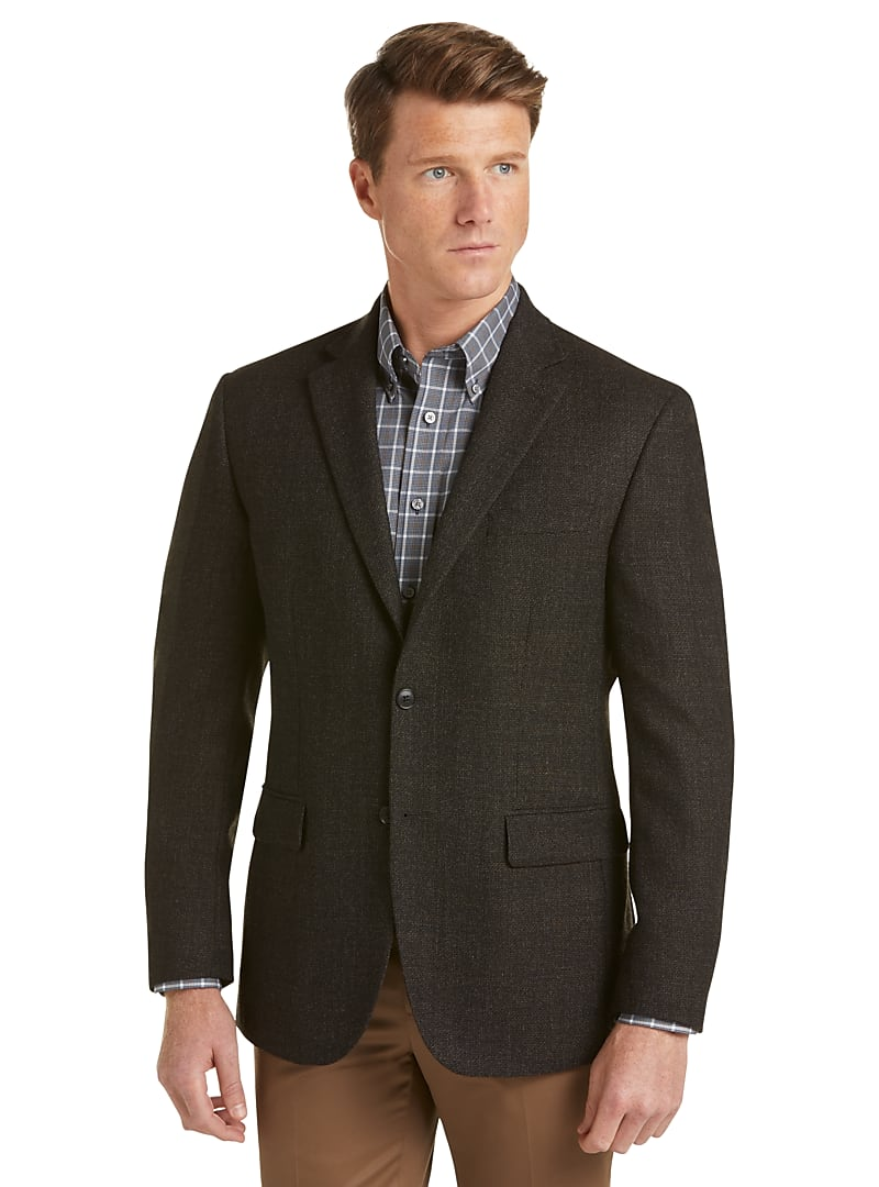 Traveler Collection Tailored Fit Tic Sportcoat