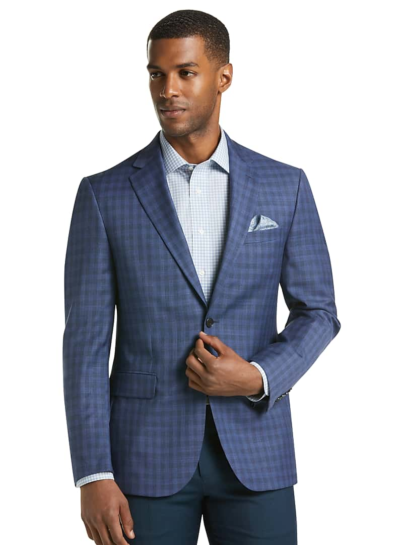 Traveler Collection Tailored Fit Check Sportcoat