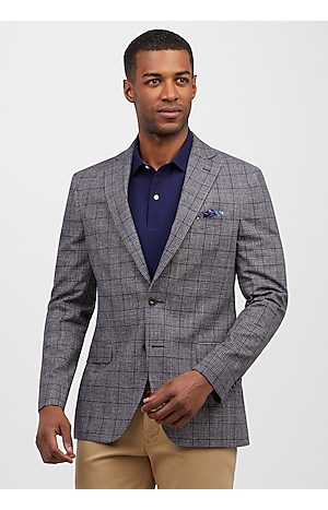 1905 Collection Slim Fit Glen Plaid Sportcoat (Was $139, Now $129)