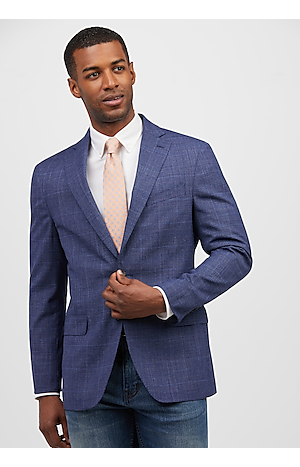 Men's SportCoats, 1905 Collection Slim Fit Glen Plaid Sportcoat - Jos A Bank