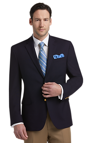 Men's SportCoats, Executive Collection Traditional Fit Blazer - Jos A Bank