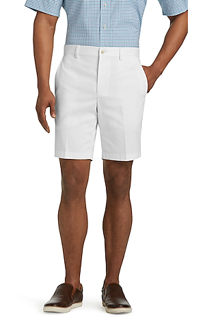 Men's Sale, Traveler Collection Tailored Fit Twill Shorts - Big & Tall - Jos A Bank