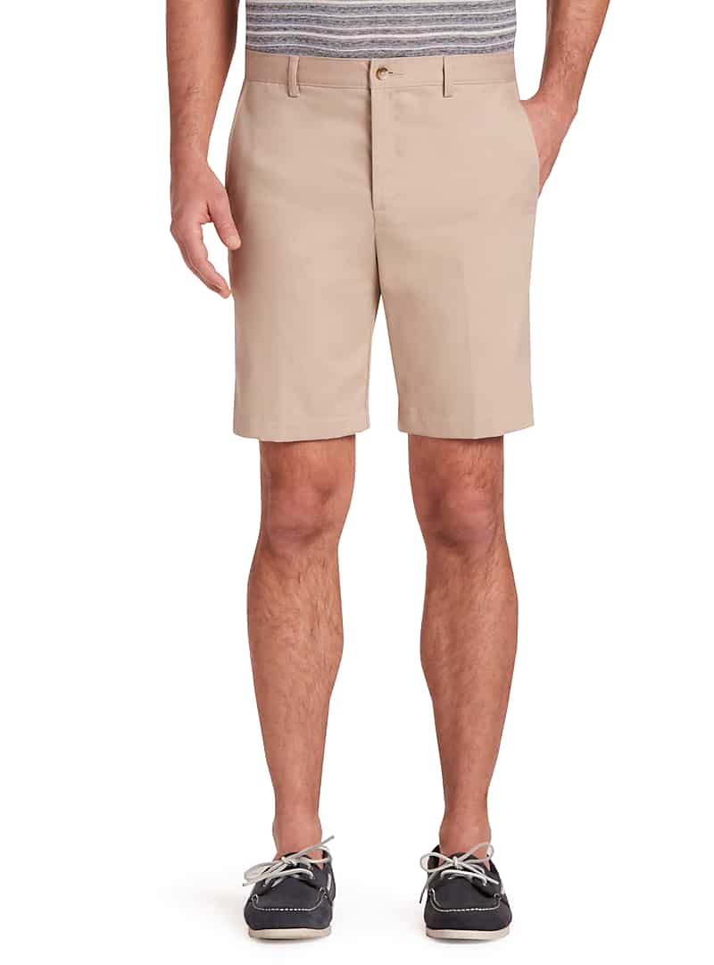 Traveler Collection Tailored Fit Twill Short