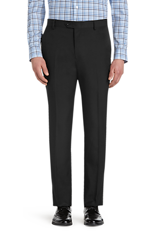 Men's FLYOUT_CATEGORY, Traveler Performance Tailored Fit Flat Front Casual Pants - Big & Tall - Jos A Bank