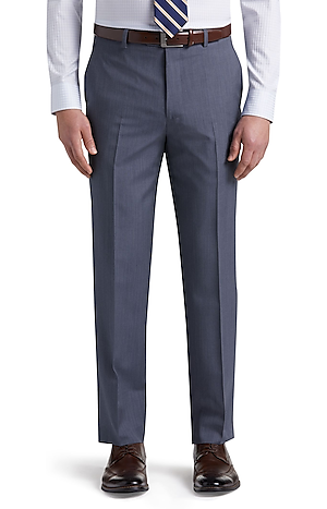Reserve Collection Tailored Fit Flat Front Dress Pants CLEARANCE