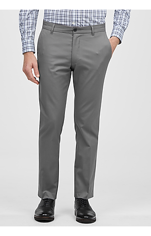 Men's FLYOUT_COLLECTION, Travel Tech Slim Fit Flat Front Casual Pants - Big & Tall - Jos A Bank