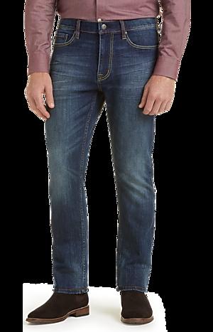 Men's Pants, 1905 Collection Slim Fit Jeans - Jos A Bank
