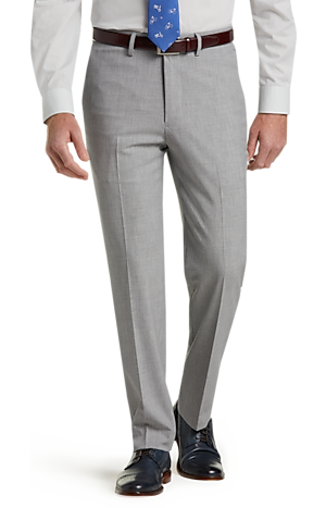 Men's Clearance, 1905 Collection Slim Fit Flat Front Stretch Dress Pant CLEARANCE - Jos A Bank