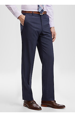 Men's Featured, Reserve Collection Slim Fit Flat Front Dress Pants - Jos A Bank
