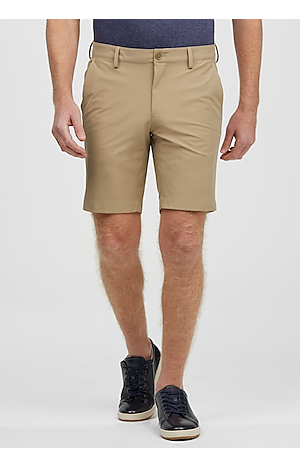 Men's Pants, Traveler Collection Tailored Fit Flat Front Shorts - Jos A Bank