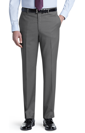Men's Clearance, Signature Collection Tailored Fit Flat Front Dress Pants CLEARANCE - Jos A Bank