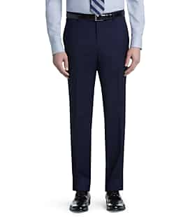 2-Pack Signature Collection Tailored Fit Flat Front Pants