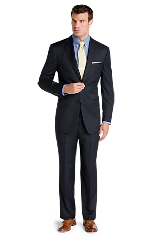 Men's Suits, Signature Gold Collection Tailored Fit Suit - Jos A Bank