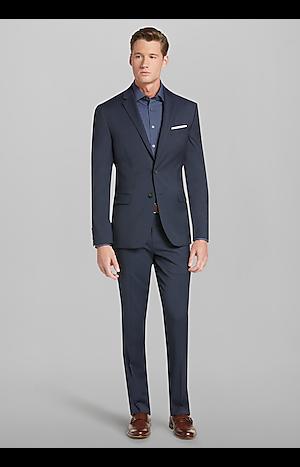 Men's Suits, Travel Tech Collection Slim Fit Suit - Jos A Bank