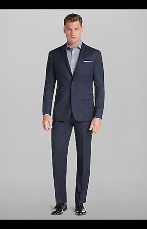 Travel Tech Slim Fit Micro Stripe Suit Separate Jacket