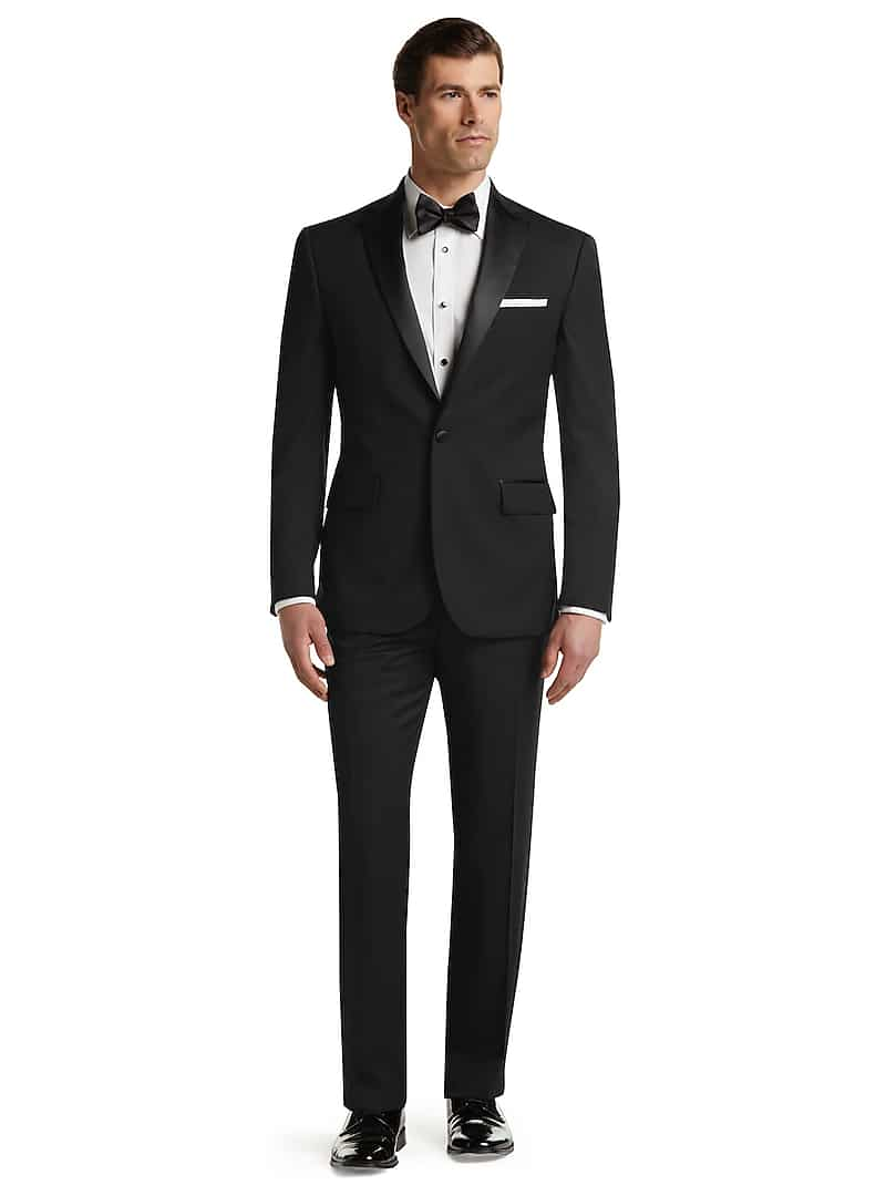 Jos. A. Bank Men's Traveler Collection Tailored Fit Tuxedo