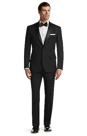 Traveler Collection Tailored Fit Tuxedo - Big & Tall