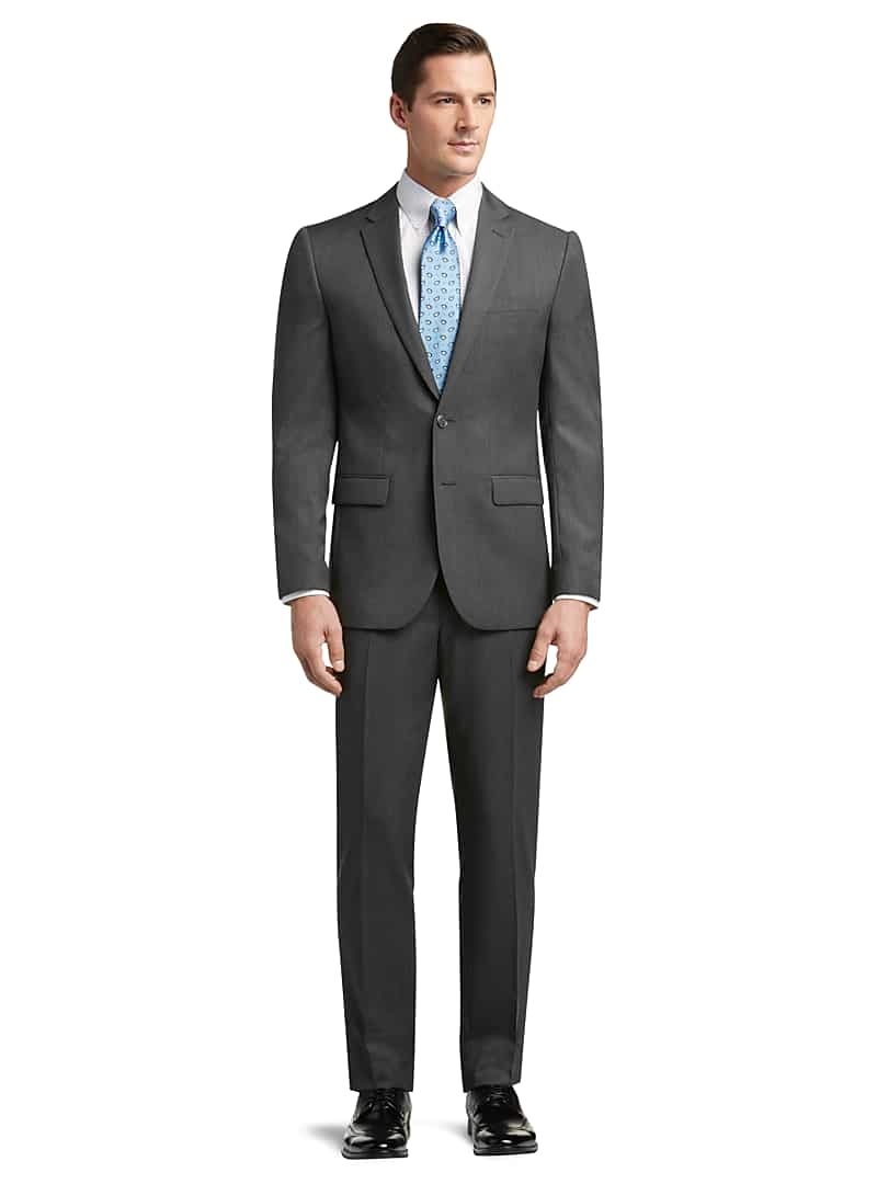 Jos. A. Bank Traveler Collection Slim Fit Solid Suit