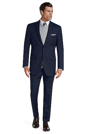 Men's Suits, Signature Collection Traditional Fit Suit - Jos A Bank