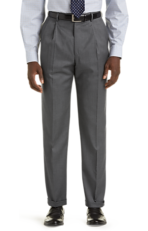 Signature Collection Traditional Fit Suit Separates Pants