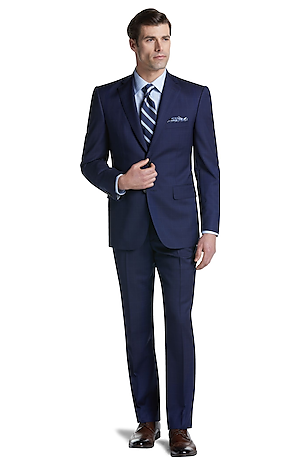 Men's Special Categories, Reserve Collection Tailored Fit Windowpane Suit CLEARANCE - Jos A Bank