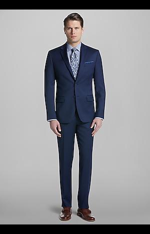 Men's Suits, Travel Tech Slim Fit Suit - Jos A Bank