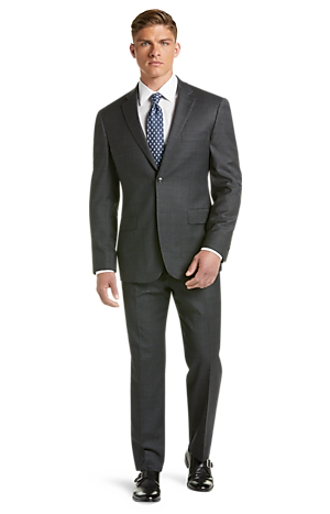 Men's Special Categories, 1905 Collection Tailored Fit Plaid Suit with brrr°? comfort - Jos A Bank