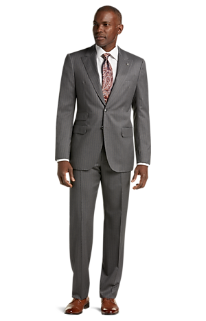 Men's Sale, Reserve Collection Tailored Fit Stripe Liberty Suit - Big & Tall - Jos A Bank