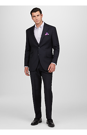 Men's Suits, 1905 Collection Tailored Fit Herringbone Suit - Jos A Bank