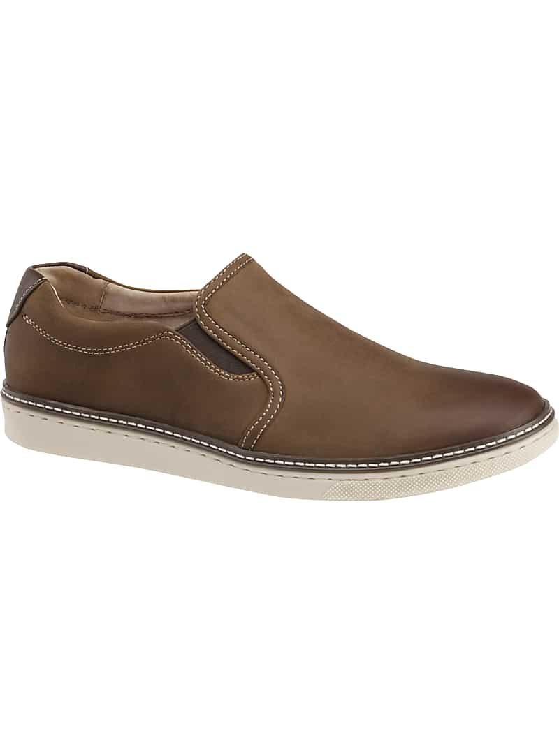 Johnston & Murphy McGuffey Full-Grain Leather Loafers