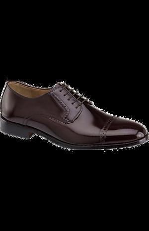 Men's Shoes, Johnston & Murphy Bradford Cap Toe Oxfords - Jos A Bank