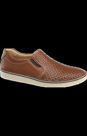 Men's Shoes, Johnston & Murphy McGuffey Woven Slip-On Loafers - Jos A Bank