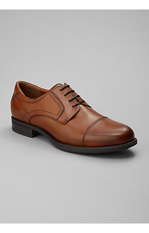 Men's Shoes, Florsheim Finance Cap Toe Oxfords - Jos A Bank