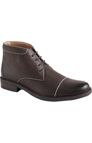Men's Shoes, Bostonian Maxton Cap Toe Dress Casual Boot - Jos A Bank