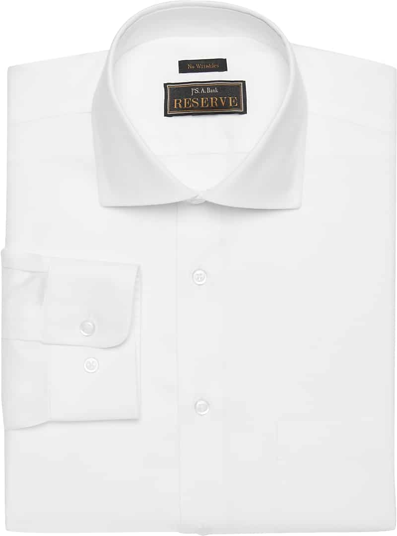 Reserve Collection Traditional Fit Cutaway Collar Dress Shirt