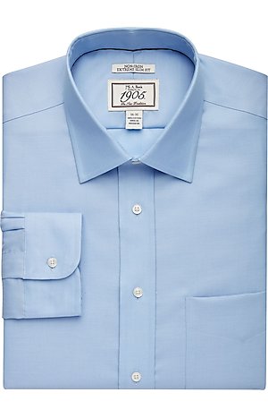 Men's Special Categories, 1905 Collection Extreme Slim Fit Spread Collar Dress Shirt - Jos A Bank