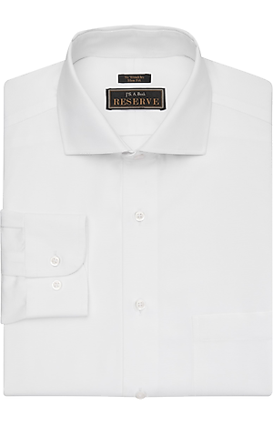 Men's Shirts, Reserve Collection Slim Fit Cutaway Collar Woven Dress Shirt - Jos A Bank
