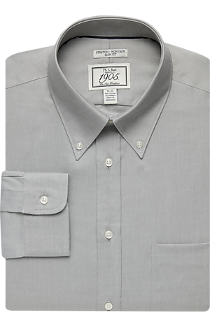 Men's Special Categories, 1905 Collection Slim Fit Button-Down Collar Dress Shirt - Jos A Bank
