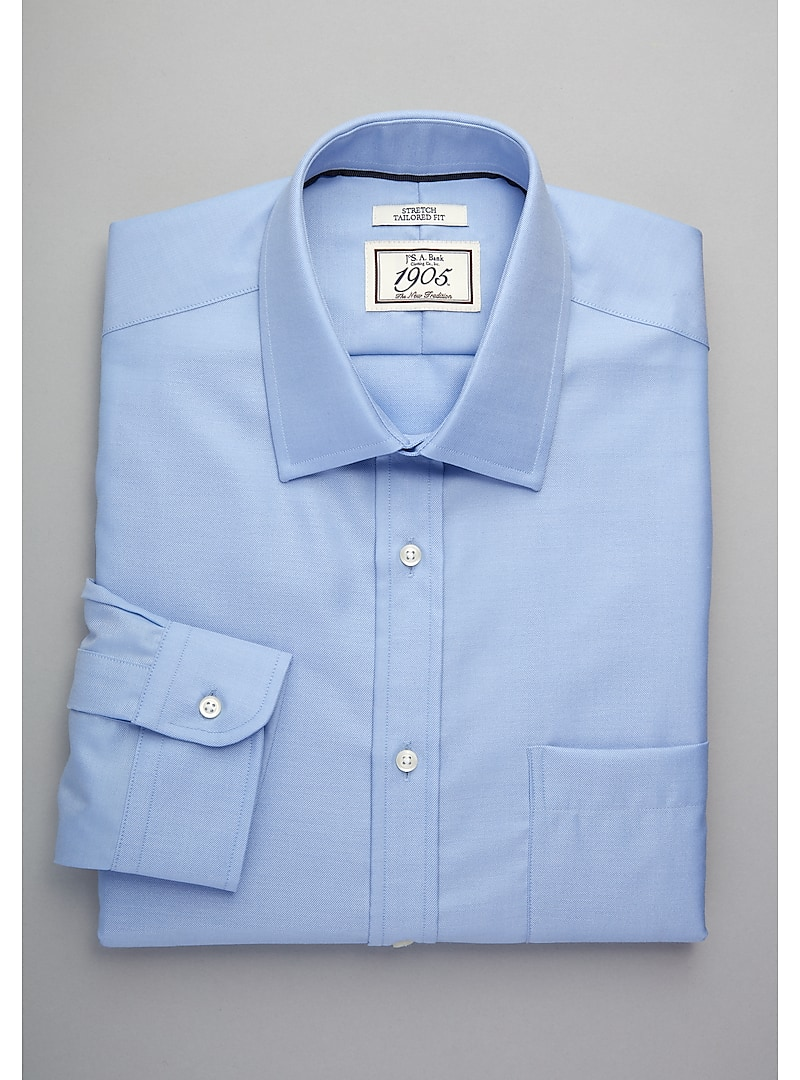 1905 Collection Tailored Fit Spread Collar Dress Shirt