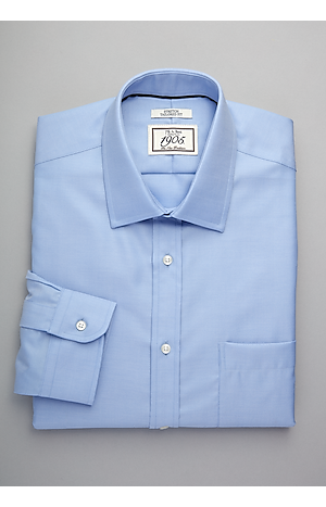 Men's Special Categories, 1905 Collection Tailored Fit Spread Collar Dress Shirt - Jos A Bank