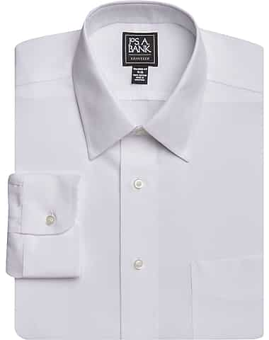3-Pack Traveler Collection Tailored Fit Point Collar Dress Shirt