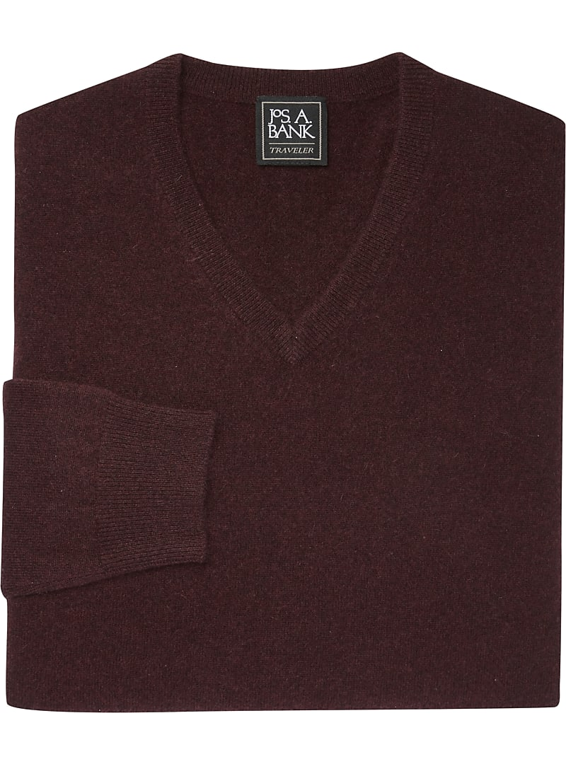 Traveler Collection V-Neck Cashmere Sweater CLEARANCE