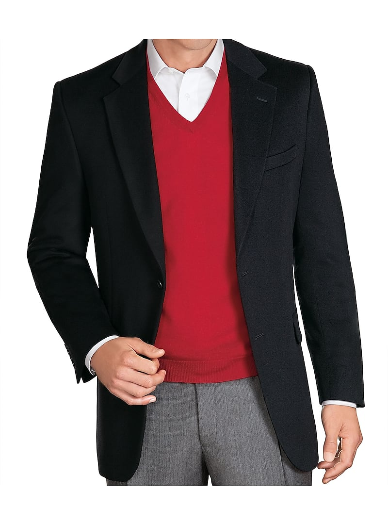 Signature Collection Traditional Fit Cashmere Sportcoat