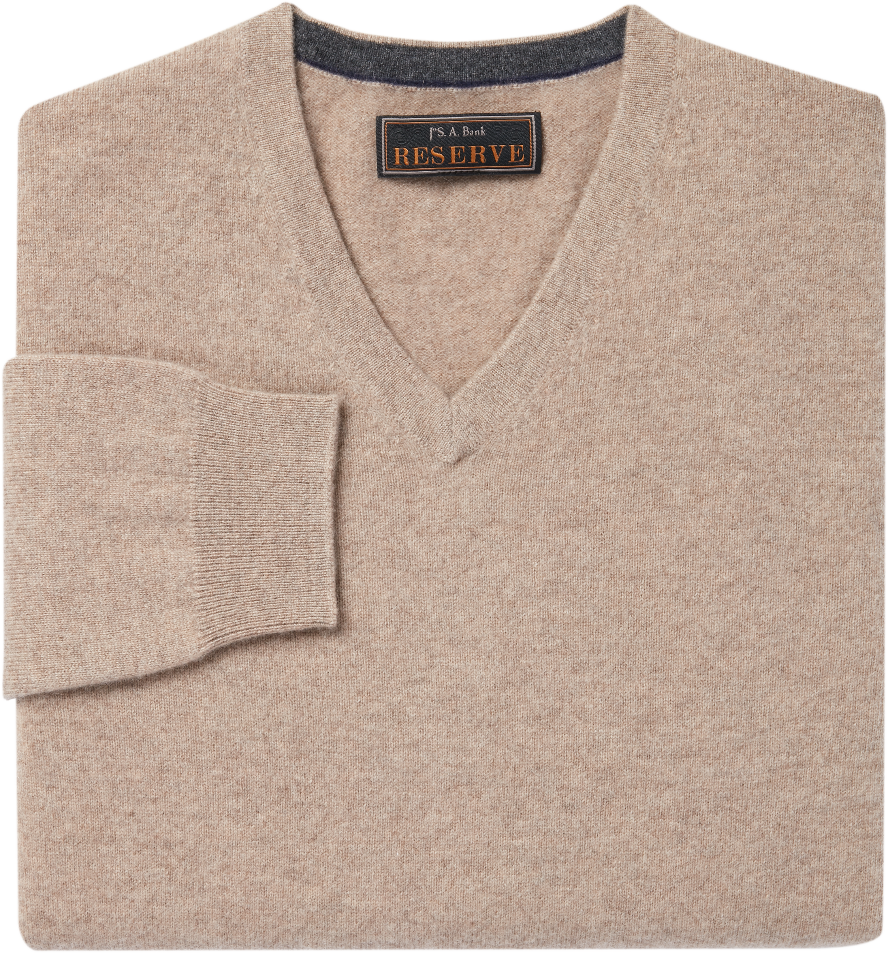 Jos. A. Bank Reserve Collection Cashmere V Neck Sweater