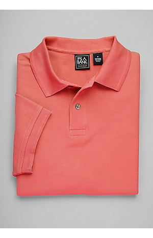 Men's FLYOUT_CATEGORY, Traveler Collection Short-Sleeve Pique Polo Shirt - Big & Tall - Jos A Bank