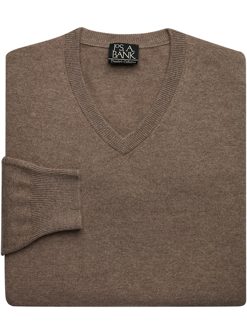 Traveler Collection Cashmere V-Neck Sweater CLEARANCE