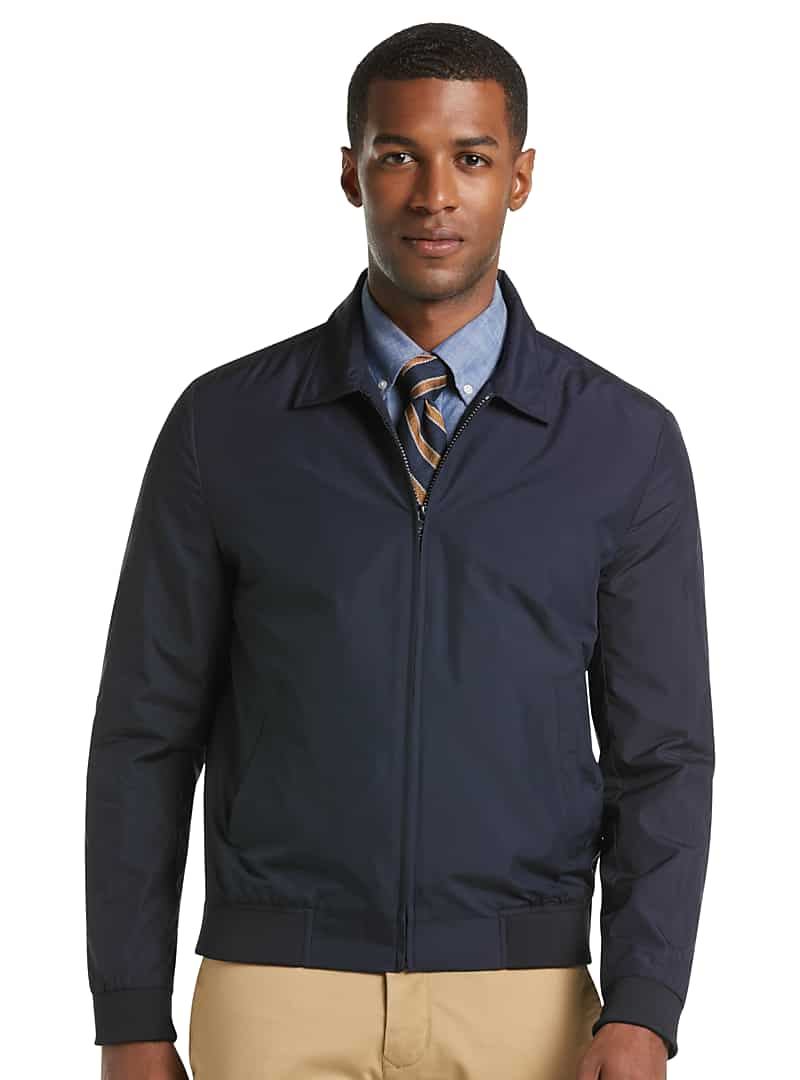 1905 Collection Tailored Fit Hybrid Bomber Jacket $34.99