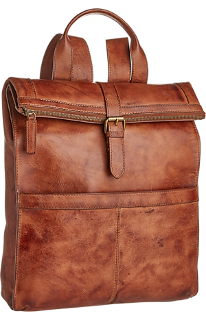 Men's Accessories, Jos. A. Bank Genuine Leather Backpack - Jos A Bank